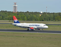 YU-API - Airbus A319-132 (Digi-Joerg) Tags: internationalerverkehrsflughafen berlintegel txl airserbia airbusa319 ersterflug17111999 heimatflughafenbelgrad yu serbia
