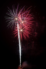 DSC_4385 (CEGPhotography) Tags: 2018 chestercounty newgarden pa balloonfestival fireworks hotairballoon