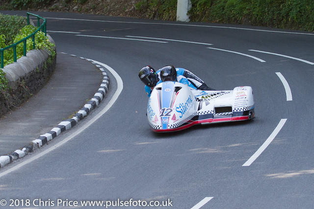 Isle of Man TT 2018: Sidecar Qualifying 6th June