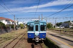 銚電3000形@銚子駅 (かがみ~) Tags: chiba leicaq railway leica choshi japan typ116 千葉 日本 鉄道 銚子 鐵道
