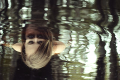 Imposter (TheGingerBeardMan) Tags: imposter cypress dome woman reflection surreal photomanipulation