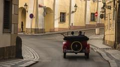 On the streets of Prague (rinogas) Tags: prague praga car old street rinogas