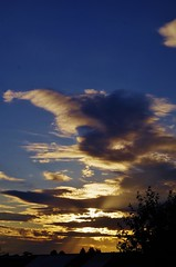 Spectacular clouds (Sundornvic) Tags: clouds sunset sky light colours shropshire