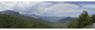 View on the Picos de Europa