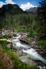 Rainerova Chata Waterfall (novak.gabor) Tags: pentax k50 nature mountains hiking waterfall