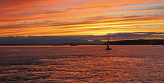 Sunset over Seattle (sean.holung) Tags: seattle puget sound elliot bay sail