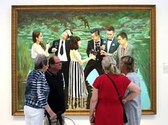 Conversation (YIP2) Tags: chinalakec portrait ulisigg chinese artist zhaobandi achinesejourney exhibition noordbrabantsmuseum denbosch netherlands modernart museum art painting people watchers watching