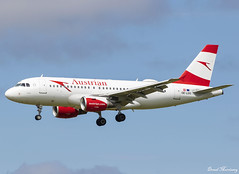Austrian Airlines A319-100 OE-LDG (birrlad) Tags: shannon snn international airport ireland aircraft aviation airplane airplanes airline airliner airlines airways arrival arriving approach finals landing runway austrian airbus a319 a319100 a319112 oeldg os2593