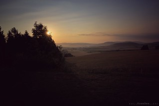 morning in the Rhön