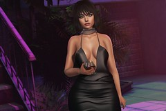 In The Night ♫ (Selena Paine) Tags: secondlife catwa maitreya navyandcopper osmia minimal blogger blog fashionblog