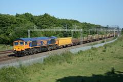 66761 Slindon 25/06/2018 (Brad Joyce 37) Tags: 66751 class66 gbrf slindon staffordshire locomotive diesel freight 6k50 nikon d7100