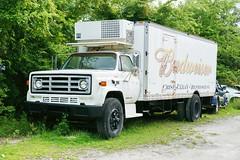GMC Refrigerator Truck in Bushnell FL 3.6.2018 0816 (orangevolvobusdriver4u) Tags: bushnell florida usa 2018 archiv2018 truck lkw lastwagen refrigeratortruck kühlwagen gmc gmcrefrigeratortruck budweiser beertruck bierauto klassik classic bushnellflorida fl truckpictures
