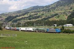 BLS BR 185 526 (Bradley Morey) Tags: bls cargo rola freiburg novara ralpin br 185 bombardier traxx trainspotting train bern lötschberg simplon alpha