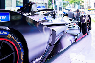 NISSAN FORMULA E in NISSAN CROSSING, Ginza, Tokyo