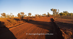 Early morning drive in karijini National pPark