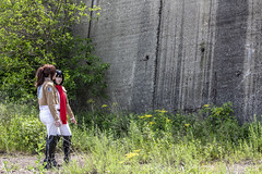 Steelworkers Park Cosplay Photo Shoot - June 2018 (Rick Drew - 20 million views!) Tags: cosplay photo shoot photography game fps canon 5d anime costume lake michigan water lakefront lakeshore chicago il illinois steelworkers park