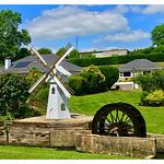 Waterwheel, walls and windmill thumbnail