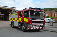 VX55 HDU (Emergency_Vehicles) Tags: vx55hdu hereford worcester fire rescue service hwfrs