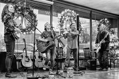 Liz Nance and her band (LumixLab) Tags: band dailygrind liznance musician flute banjo ivorsparks singersongwriter erinworley music murphync guitar
