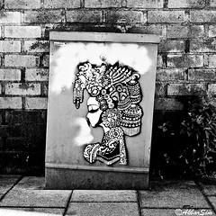 Den Haag Stencil Art (Akbar Sim) Tags: denhaag thehague agga holland nederland netherlands akbarsim akbarsimonse streetart urbanart stencil stencilart