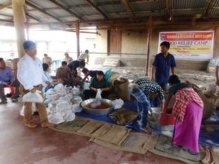 Ramakrishna Mission, Imphal 2018 Flood Relief