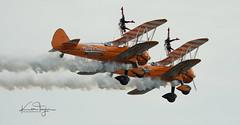 Wing Walkers (yadrad) Tags: plane stunts wing wingwalkers biplane