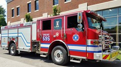 Engine 595 (Central Ohio Emergency Response) Tags: violet township fire department truck pinkerington pierce engine pumper velocity puc