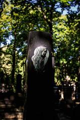 departed (ewitsoe) Tags: canoneos6dii ewitsoe warszawa erikwitsoe summer warsaw cemetary tomb park headstone warm marker