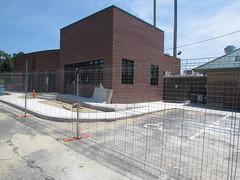 Construction at Grainger Stadium -- Kinston, NC, June 28, 2018 (baseballoogie) Tags: 062818 baseball baseball18 baseballpark ballpark stadium graingerstadium canonpowershotsx30is downeastwoodducks woodducks carolina league a milb kinston nc northcarolina