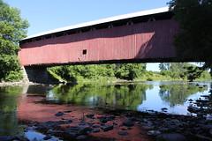 Des Rivières Covered Bridge (pegase1972) Tags: coveredbridge bridge pont québec quebec qc canada montérégie monteregie licensed shutter shutterstock dreamstime