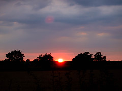 365.187 - Going down (AmyGStubbs) Tags: 06jul18 2018 365the2018edition 3652018 day187365 epl3 olympus olympus1442f3556iirmsc silhouette sun sunset