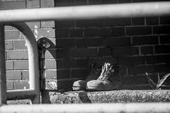 old shoes on Sunday (Fearghàl Nessbank) Tags: nikon d700 beroflex wundertüte beroflexf500 manuallens oldlens blackwhite monochrome oldshoes art