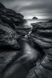Rock Gully, Trebarwith Strand