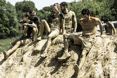 Mud Day Paris 2018 - Splash 1/4 (esim08) Tags: muddayparis2018 mudday mud sport candid splash