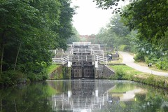 Field Locks   (Leeds - Liverpool Canal   July 2018) (dave_attrill) Tags: leedsandliverpool canal lock fieldlocks 3rise towpath footpath cyclepath path leeds west yorkshire lancashire bradford wigan longbotham brindley coal textiles limestone trade industry pennines granary wharf 127 miles july 2018