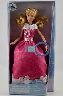 2018 Singing Cinderella Doll - Disney Store Purchase - Boxed - Front View