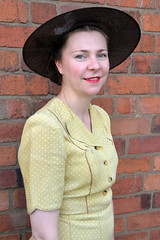 Elegant 1940's Lady (masimage) Tags: black country museum 1940s weekend 2018 war wartime britain ww2 wwii vintage nostalgia retro fashion ddaydarlings dday darlings ensa singers