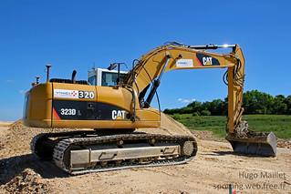 Vinci Construction | Caterpillar 323D