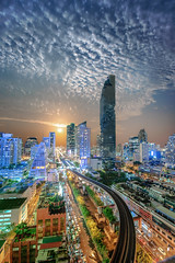 DSC_5561 (idanupong) Tags: city bangkok night light sky cityscape twilight view skyline urban modern architecture traffic thailand downtown building office skyscraper bridge tower hotel dusk business asia town landmark travel capital blue road state tourism expressway landscape highway scene river water sunset district beautiful metropolis metropolitan apartment evening construction scenery panorama waterfront famous