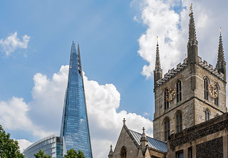 Old & New (Southwark Skyline) (Fuji X100F) (1 of 1)