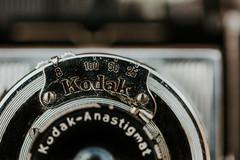 K o d a k... (Jess Feldon) Tags: hmm macro macromondays photographygear kodak vintage lookslikefilm jessfeldon details retro filmcamera 7dwf