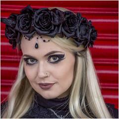 Kate (David-Hall) Tags: goth woman kate 2016 cleethorpes