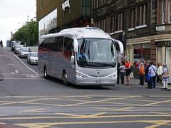 Ratho Coaches of Newbridge Scania K360IB4 Irizar i6 YN15EMJ at South St David Street, Edinburgh, on 17 July 2018. (Robin Dickson 1) Tags: rathocoachesofnewbridge busesedinburgh scaniak360ib4 irizari6 yn15emj