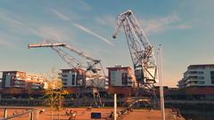 17 - strasbourg avril 2018 - Bassin d'Austerlitz (paspog) Tags: strasbourg bassindausterlitz alsace france april avril 2018 grue crane