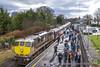 IE 086 RPSI 'Branchline Wanderer', Cloughjordan Station (Eiretrains) Tags: 071class cravens rpsi black cloughjordan diesel railtour irishrail iarnródéireann irishrailways enthusiasttrain dieselrailtour diesellocomotive railwaypreservationsocietyofireland