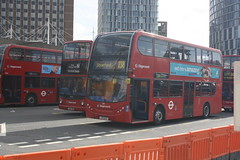 Stagecoach East London (lazy south's travels) Tags: stratford london england english britain british uk bus stagecoach enviro 400 lx12dcv 10111 lx04fwn 18203 tfl londontransport transportforlondon