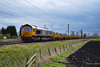 66741 - Bannold Road - 02/04/18. (TRphotography04) Tags: gb railfreight gbrf 66741 swanage railway passes bannold road working 6l37 1000 hoo junction up yard whitemoor ldc