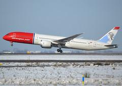 "LN-LNL, Boeing 787-9 Dreamliner, 37981-488, Norwegian Long Haul, ""Kirsten Flagstad"", CDG 2018-02-10, off runway 27L. (alaindurandpatrick) Tags: lnlnl 37981488 787 7879 789 boeing boeing787 boeing7879 dreamliner boeing787dreamliner boeing7879dreamliner jetliners airliners du nlh norstar norwegian norwegianlonghaul airlines cdg lfpg parisroissycdg airports aviationphotography"