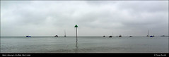 Beach, Estuary & Mudflats: Slack Water DSC00590 (Trevor Durritt) Tags: sonycybershotdschx9v ©trevordurritt thamesestuary hightide slackwater southendonsea essex england boats warning countyofessex