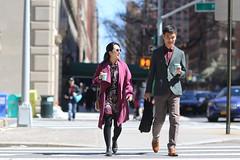 Pepole on E 72nd Street. (kevinrubin) Tags: streetphotography stockings street newyorkcity nyc newyork unitedstates us